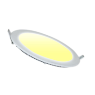 LED Downlight 12W 3000K Ø170mm Dimmbar Rund