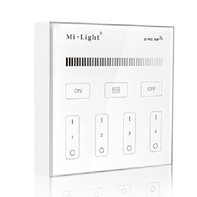 Mi-Light 4-Zonen-Wandbedienung 220V Dual White