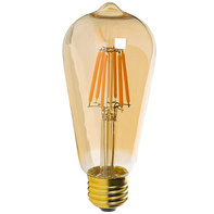 E27 LED Filament Lampe 2200K 4W Dimmbar ST64