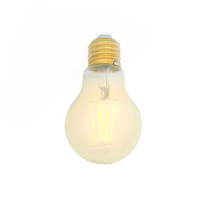 E27 LED Filament Lampe 2700K 5W Dimmbar A60