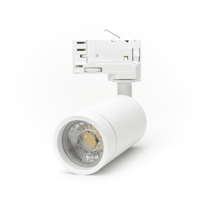 LED Spot Armatuur voor 3-fase Rail Verlichting 4-aderig Wit [Ultra] Model A hoofdfoto